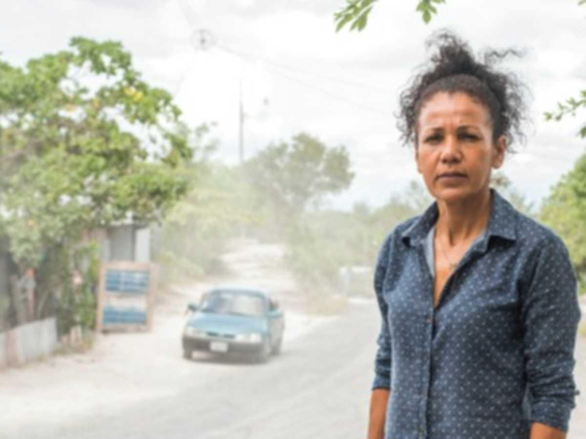 Arelis Rodríguez Vílchez, lideresa y vecina de Martina Bustos. Ella conoce la realidad de la comunidad. Crédito Eyleen Vargas.