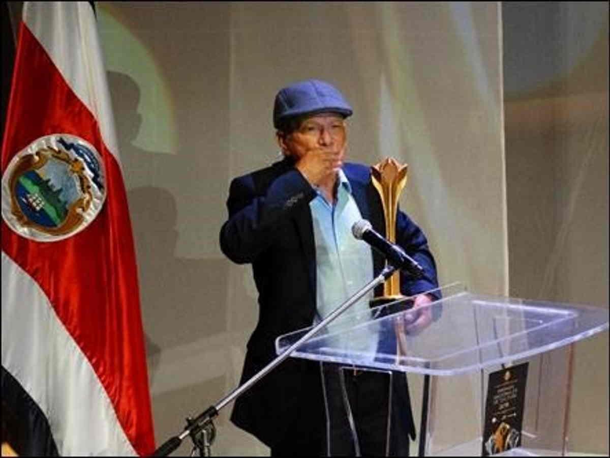 """El cabuyero de El Guarco de Cartago, Juan Olivado Camacho Leiva, conocido como """"Tina"""", recibió el Premio Emilia Prieto 2018. Foto: L.López-CICPC."""