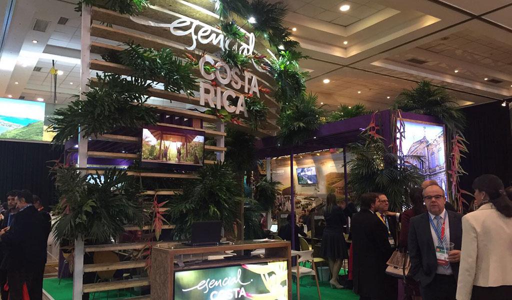 Costa Rica grabó premios de turismo en feria de reuniones latinoamericana